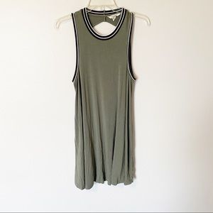 American eagle soft and sexy open back midi dress